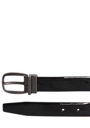 25MM PATENT LEATHER BELT