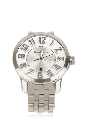 SWISS MADE STAINLESS STEEL WATCH