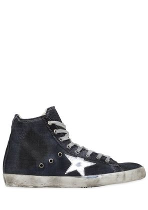 FRANCY DENIM HIGH TOP SNEAKERS