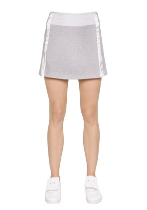 STRETCH COTTON JERSEY SKIRT