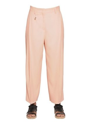 ERINDA TECHNO VISCOSE CADY TROUSERS