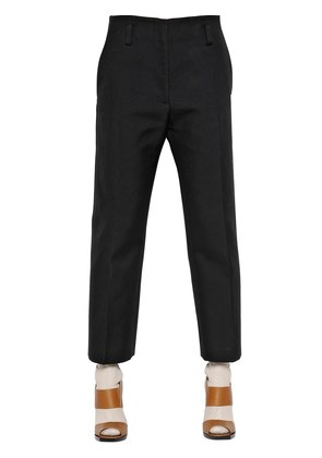 DOUBLE FACE COTTON GABARDINE  PANTS