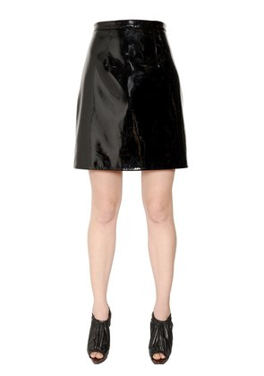 PATENT LEATHER MINI