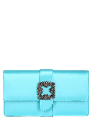 CAPRI SILK SATIN CLUTCH