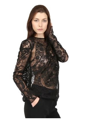 LACE PATCHWORK BLOUSE