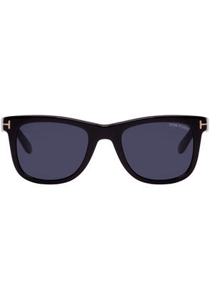 Tom Ford Black and Blue Leo Sunglasses