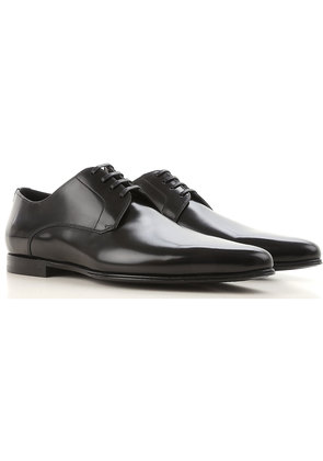 Dolce & Gabbana Lace Up Shoes for Men Oxfords, Derbies and Brogues On Sale, Black, Brushed Leather, 2017, 5.5 6 6.5 6.75 7 7.5 8 8.5 9 9.5