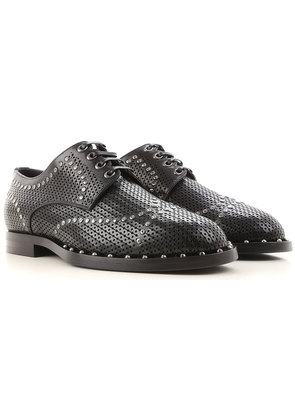 Dolce & Gabbana Lace Up Shoes for Men Oxfords, Derbies and Brogues On Sale, Black, Leather, 2017, 6.5 7 8 8.5 9 9.5
