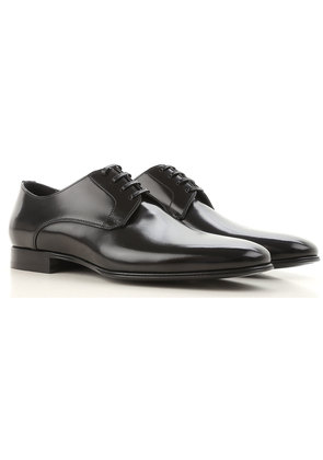 Dolce & Gabbana Lace Up Shoes for Men Oxfords, Derbies and Brogues On Sale, Black, Leather, 2017, 5.5 6 6.5 6.75 7 7.5 8 8.5 9 9.5