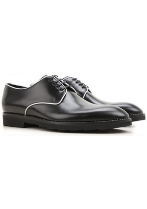 Dolce & Gabbana Lace Up Shoes for Men Oxfords, Derbies and Brogues On Sale in Outlet, Black, Leather, 2017, 10.5 6.5 9.5