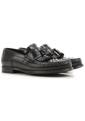 Dolce & Gabbana Loafers for Men On Sale in Outlet, Black, Leather, 2017, 6.5 9.25 9.5