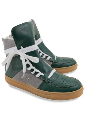 Sneakers for Men On Sale, Green, Leather, 2017, 11 7 8 Kris Van Assche
