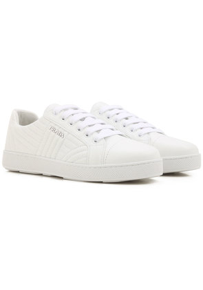 Sneakers for Women On Sale, White, Leather, 2017, 3 4 5 6 6.5 7.5 Prada