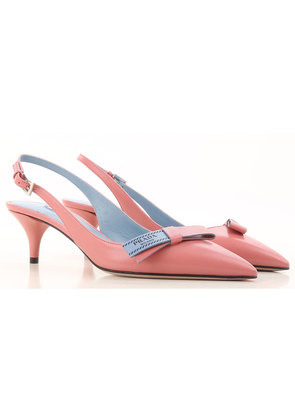 Pumps & High Heels for Women On Sale, Pink Lotus, Leather, 2017, 3 4 4.5 6 6.5 7 7.5 Prada