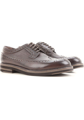 Brogue Shoes On Sale, Black, Leather, 2017, 6 7.5 9.5 Jerold Wilton