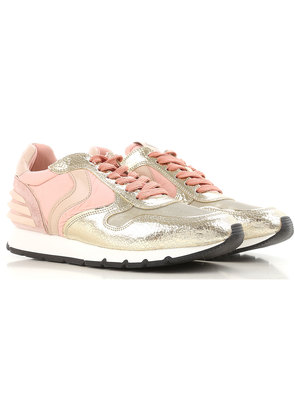 Sneakers for Women On Sale, Rose, Leather, 2017, 3.5 7.5 8.5 Voile Blanche