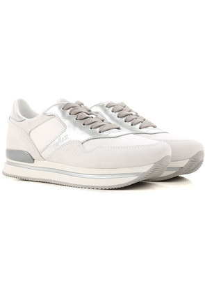 Sneakers for Women On Sale, Turtle Dove, Suede leather, 2017, 2.5 3.5 4 4.5 6 7.5 Hogan