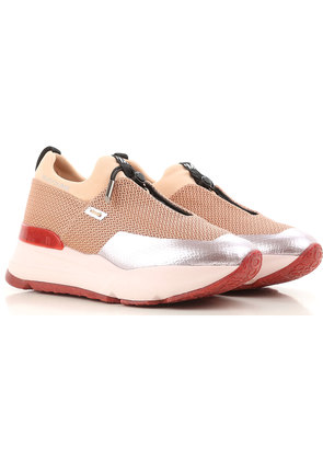 Sneakers for Women, Salmon, Leather, 2017, 3.5 4.5 Ruco Line