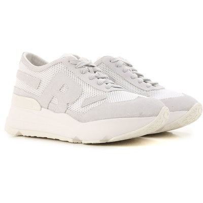 Sneakers for Women On Sale, Gun Metal, Leather, 2017, 2.5 3.5 4.5 Ruco Line