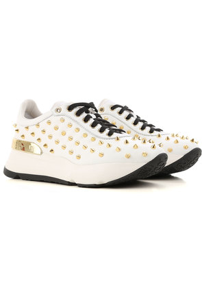 Sneakers for Women On Sale, White, Leather, 2017, 3.5 4.5 5 6.5 Prada