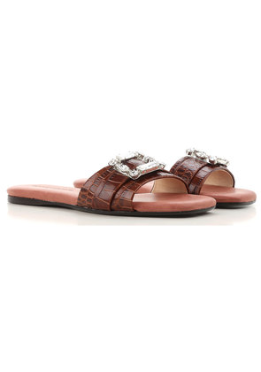 Anna Baiguera Sandals for Women On Sale, Brown, Leather, 2017, 3.5 4.5 5.5 7.5 8.5