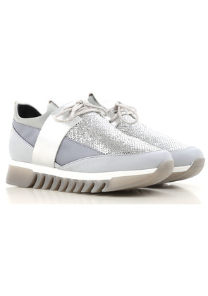 Alexander Smith Sneakers for Women On Sale, Silver, Leather, 2017, 4.5 5.5 6.5 7.5
