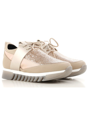 Alexander Smith Sneakers for Women On Sale, Bronze Gold, Leather, 2017, 3.5 4.5 5.5