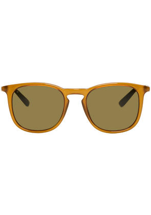 Gucci Tan Sensual Romanticism Retro Web Sunglasses