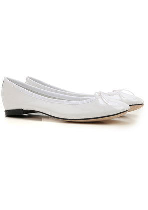 Repetto Ballet Flats Ballerina Shoes for Women On Sale, White, Patent Leather, 2017, 4.5 5 5.5 6 6.5