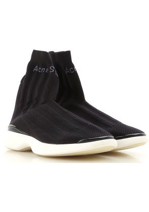 Sneakers for Women On Sale, Black, Fabric, 2017, 5.5 7.5 Acne Studios