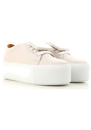 Sneakers for Women On Sale, Off White, Leather, 2017, 7.5 Acne Studios