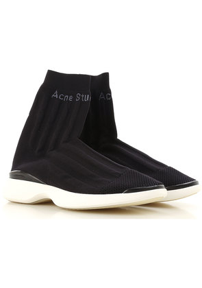 Sneakers for Women On Sale, Black, Stretch Fabric, 2017, 4.5 5.5 7.5 Acne Studios