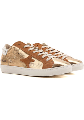Sneakers for Women On Sale, Brown, Leather, 2017, EUR 36 - UK 3 - USA 5.5 EUR 37 - UK 4 - USA 6.5 Ama brand