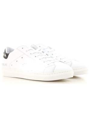 Sneakers for Women On Sale, White, Leather, 2017, EUR 36 - UK 3 - USA 5.5 EUR 40 - UK 7 - USA 9.5 Ama brand