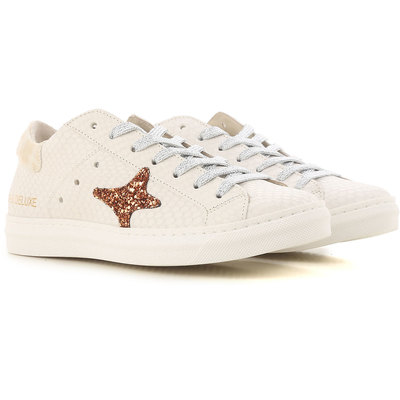 Sneakers for Women On Sale, White, Leather, 2017, EUR 36 - UK 3 - USA 5.5 Ama brand