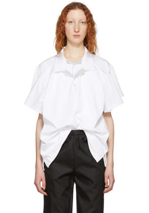 Y-project White Double Layer Polo