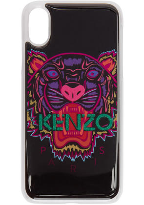 Kenzo Black and Pink Tiger Iphone X Case