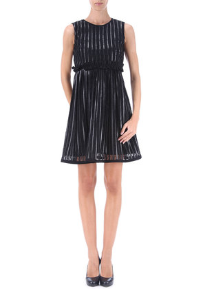 Dress for Women, Evening Cocktail Party On Sale in Outlet, Black, polyester, 2017, 10 Pinko