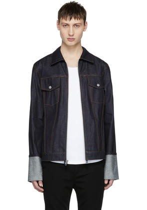 Helmut Lang Indigo Re-edition Zip Denim Jacket