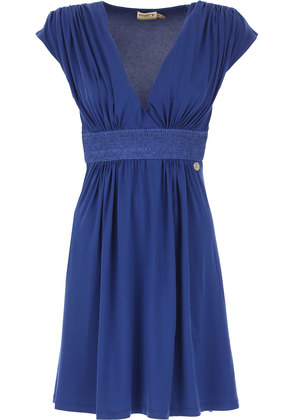 Dress for Women, Evening Cocktail Party On Sale, Bluette, Viscose, 2017, 6 8 Twin-Set