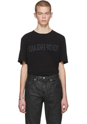 Helmut Lang Black Re-edition tom Of England T-shirt