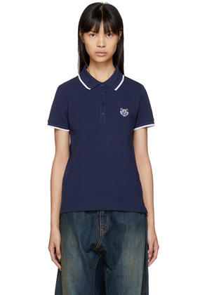 Kenzo Navy Tiger Crest Polo