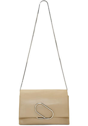 3.1 Phillip Lim Beige Alix Soft Flap Clutch