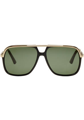 Gucci Black Sensual Romanticism Aviator Sunglasses