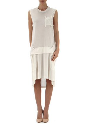 Dress for Women, Evening Cocktail Party On Sale in Outlet, White, Cotton, 2017, 10 8 Dolce & Gabbana