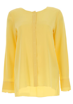 Shirt for Women On Sale, Yellow, Silk, 2017, 10 12 8 Her Shirt