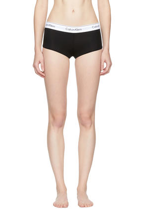 Calvin Klein Underwear Black Modern Cotton Boy Shorts