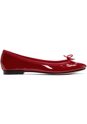 Repetto Red Patent Cendrillon Ballerina Flats