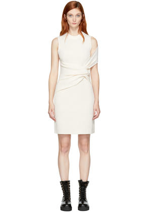 3.1 Phillip Lim Off-white Draped Twist Dress
