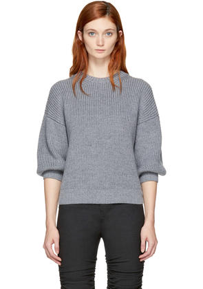 3.1 Phillip Lim Grey Mohair Sweater
